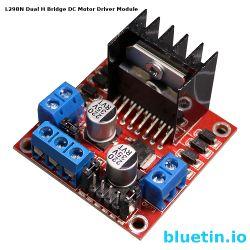 Smaller version of the L298N Dual H Bridge Module