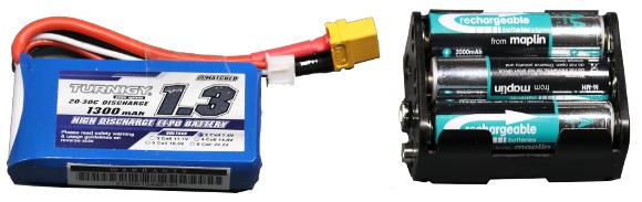 Motor Driver Battery Packs
