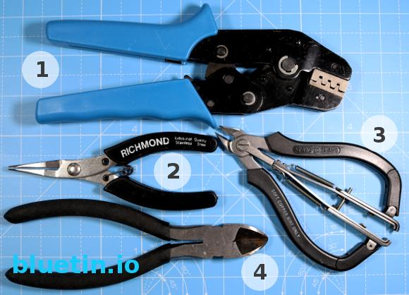 SN-28B Terminal Crimping Complete Tool Kit
