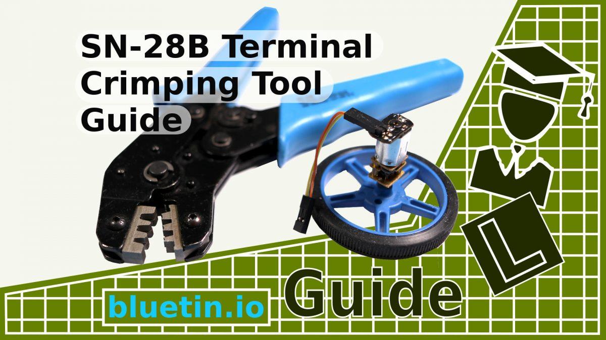 SN-28B Terminal Pin Crimping Tool Guide
