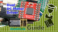 TB6612FNG Dual DC Motor Driver and Arduino Circuit