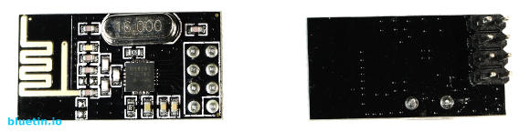 NRF24L01 2.4GHz Wireless Transceiver Modules Front and Back