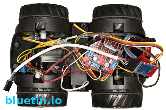 Arduino Powered RC Car Robot Chassis