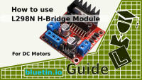 L298N Dual H Bridge DC Motor Driver Module