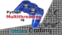 Multithreading Raspberry Pi Game Controller for Robot Control