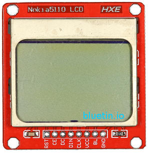 Nokia 5110 LCD Front View