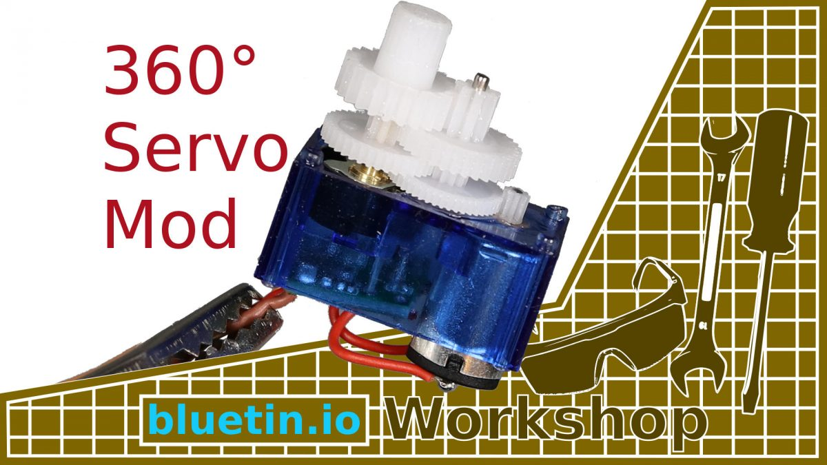360 Degree Mod for Servo Continuous Rotation – Guide