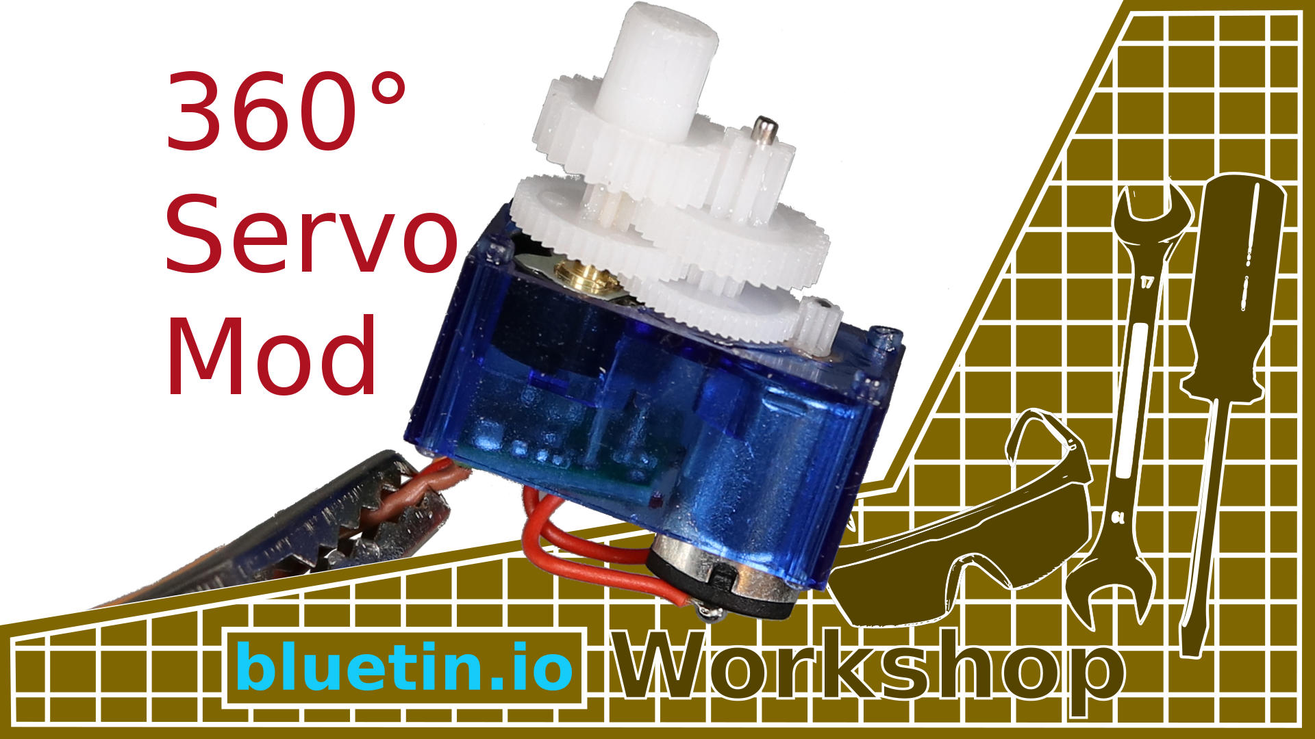 360 Degree Mod For Servo Continuous Rotation Guide