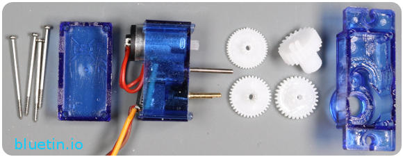 360 Degree Servo Motor Modding