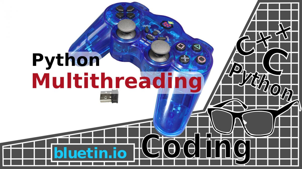 Multithreading Raspberry Pi Game Controller in Python