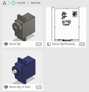 Servo Motor 3D Models