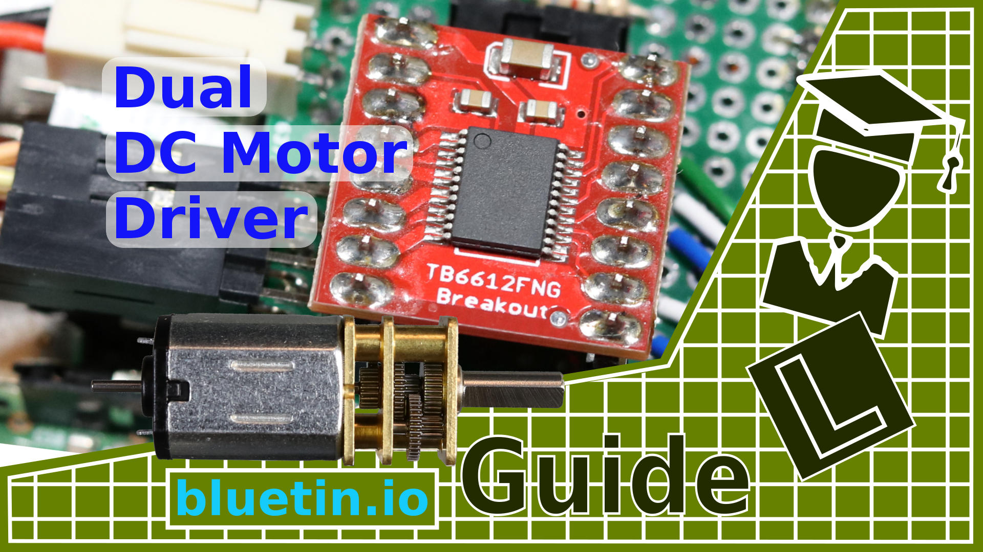 Tb6612fng dual dc motor driver and arduino circuit guide for Dc motor driver ic
