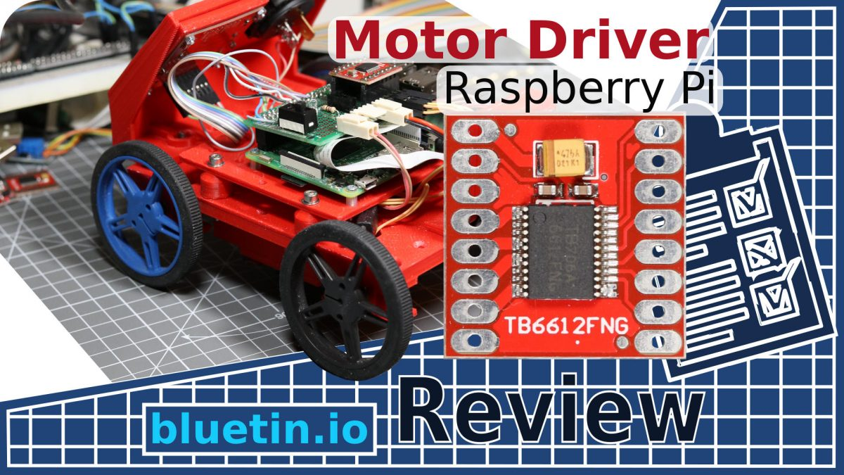 Motor Driver for Raspberry Pi Robot using TB6612FNG