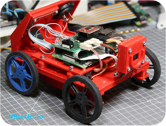 Pi Wars 2018 - Bluetin Mini Robot