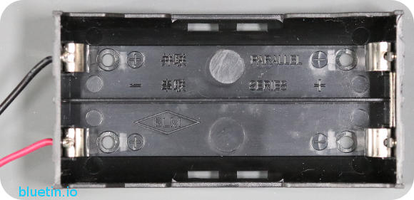 Two Cell Series 18650 Battery Holder