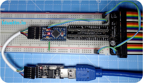 Using I2C Serial Bus to Connect Raspberry Pi to Arduino
