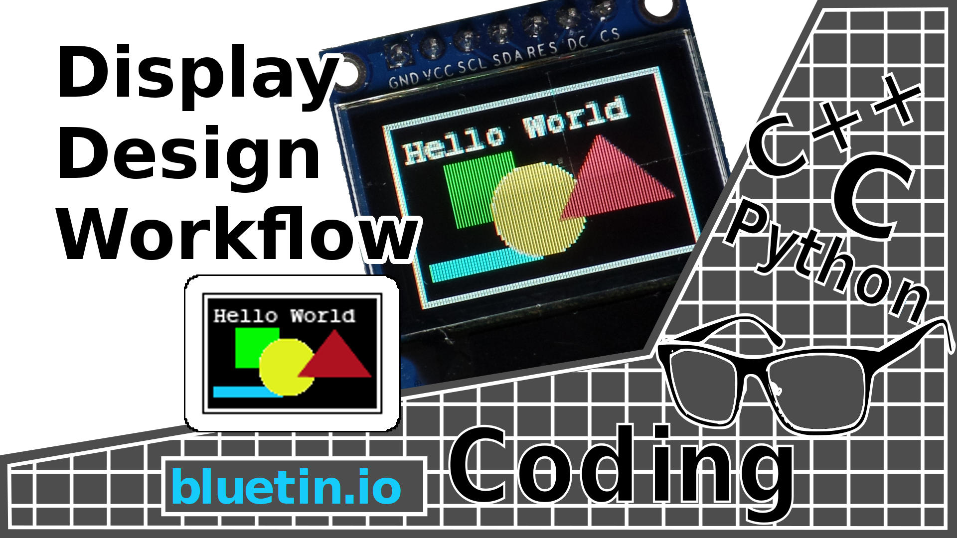 Create OLED or LCD Display Content with Pillow - Graphics