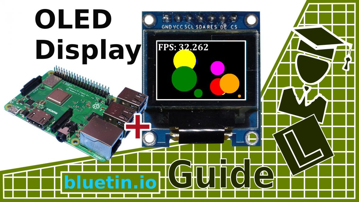 OLED Display Library Setup for the Raspberry Pi featuring SSD1331