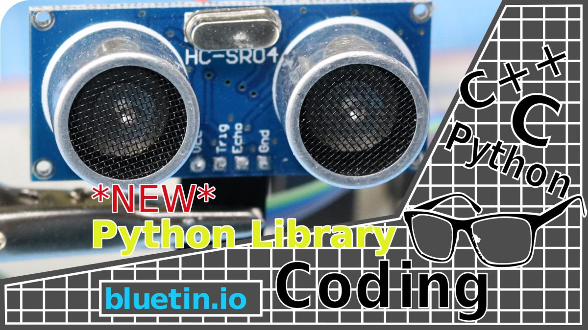 Ultrasonic HC-SR04 Sensor Python Library for Raspberry Pi GPIO