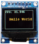 Scaled SSD1331 Colour Display Module