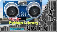 Ultrasonic HC-SR04 Sensor Python Library for Raspberry Pi GPIO
