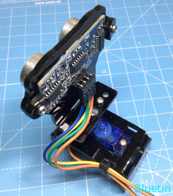 Connecting and securing wires on the sensor sweeper